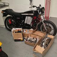 Classic Motorcycle Storage