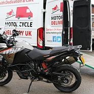Professional motorcycle transport company